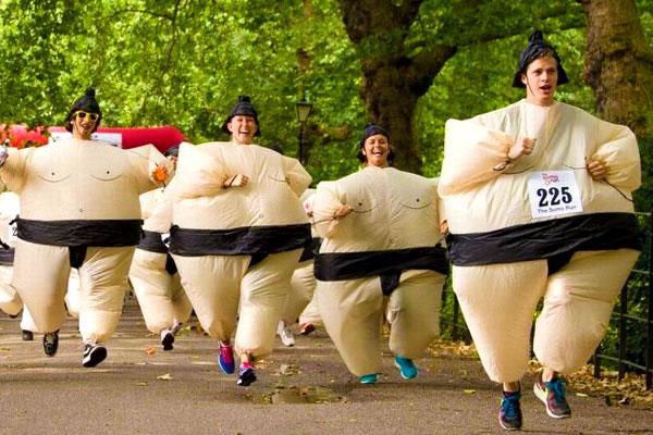 carrera de sumo