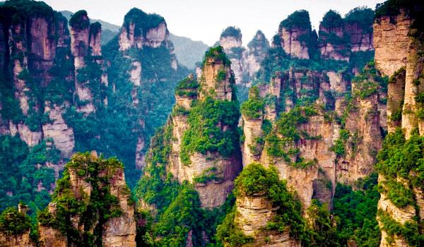 Montaña Tianzi