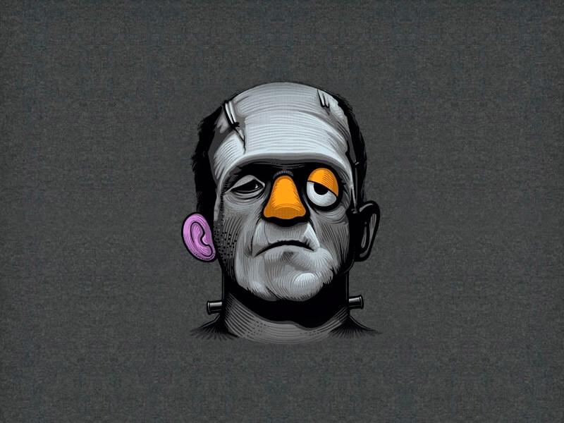 Frankenstein Mr. Potato