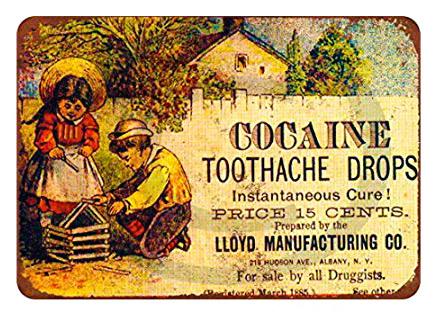 Gotas de cocaina