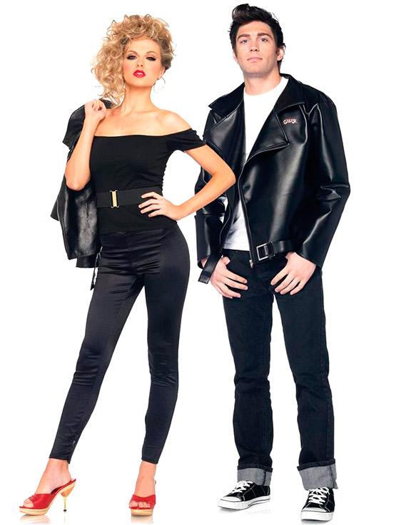 Sandy y Danny de Grease
