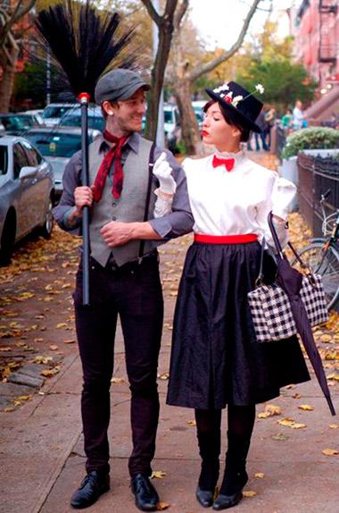 Mary Poppins y el deshollinador