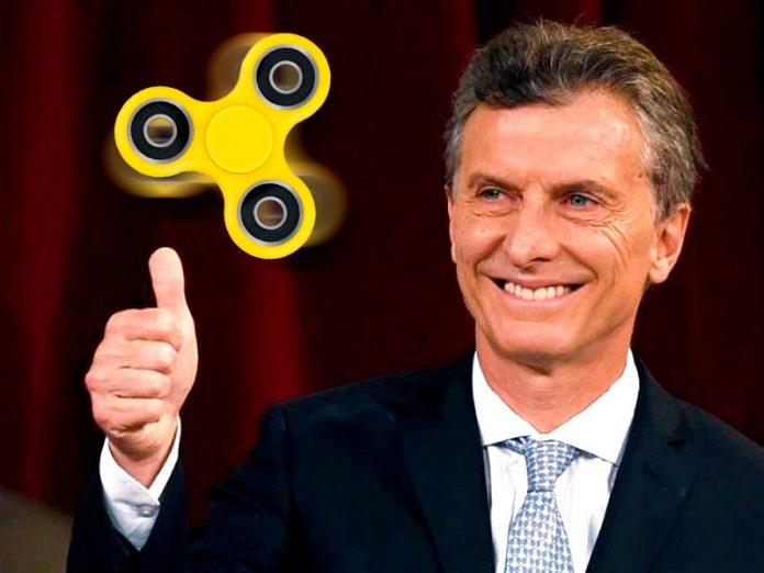 Spinner, el juguete que llegó hasta el presidente de Argentina