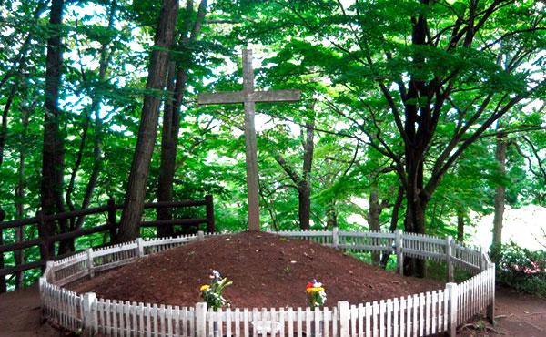 Tumba de Jesus en Japon