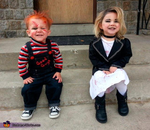 Chucky y su novia