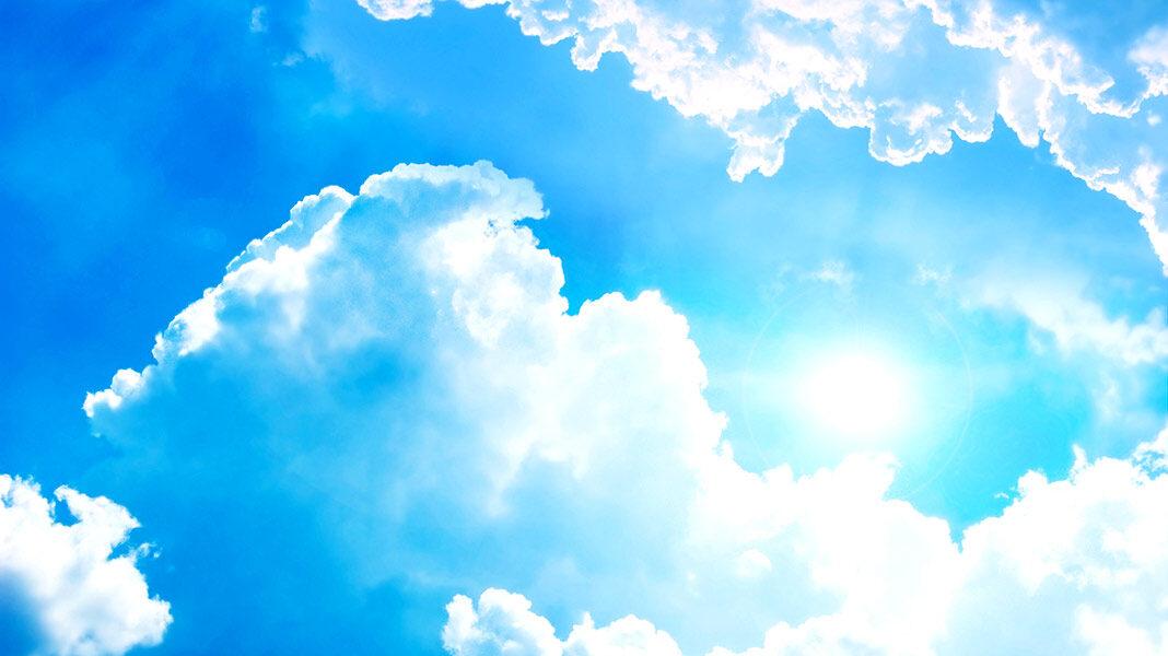 ¿Por qué vemos el cielo azul si en el espacio exterior es negro?