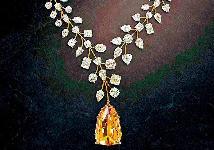 Así es el collar más caro del mundo...