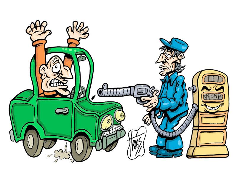 la gasolina y el gasoil