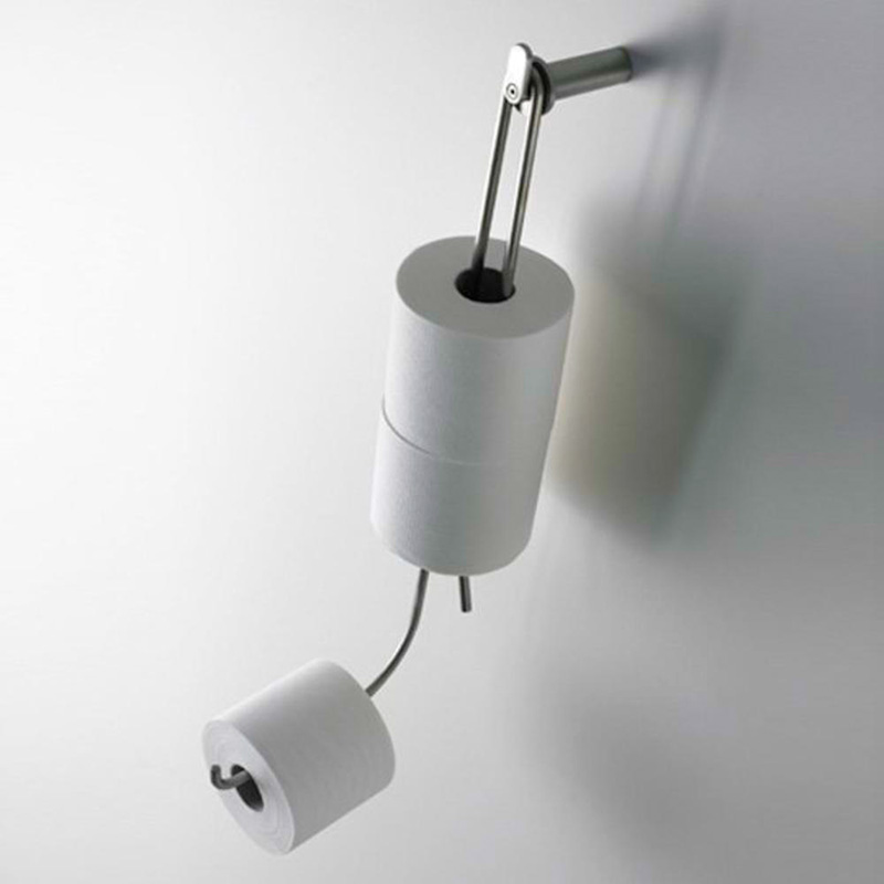 Soporte múltiple para papel higiénico