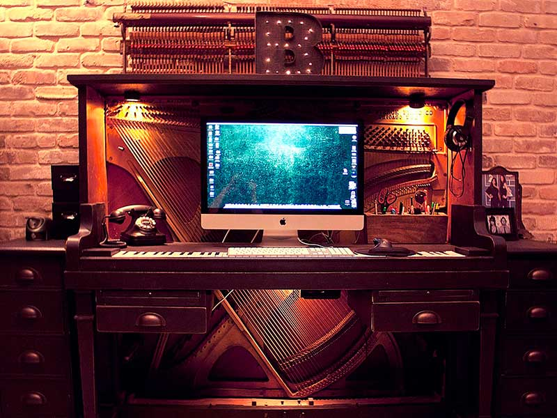 Piano escritorio