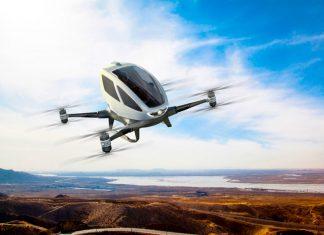 ¿Te subirías a un dron-taxi? En Dubái pronto podrás.
