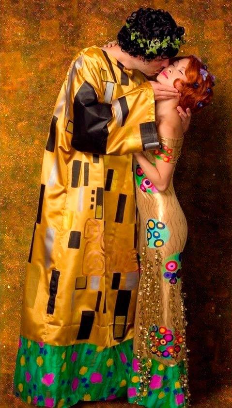 Cuadro 'El beso' De Klimt