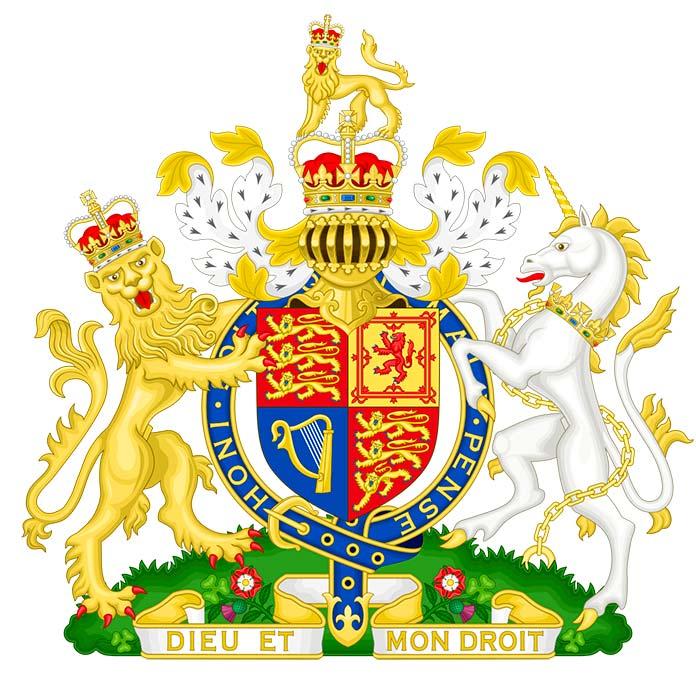 Escudo de Armas del Gobierno de Su Majestad del Reino Unido