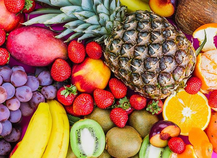 Frutas y verduras - Características de las frutas