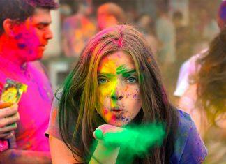 La carrera más colorida del planeta se llama Holi Run.