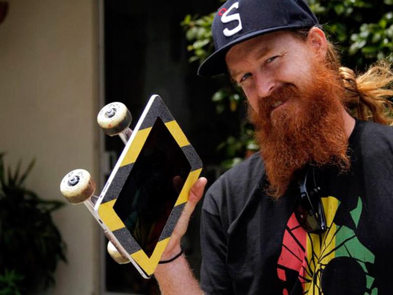ipad skateboard