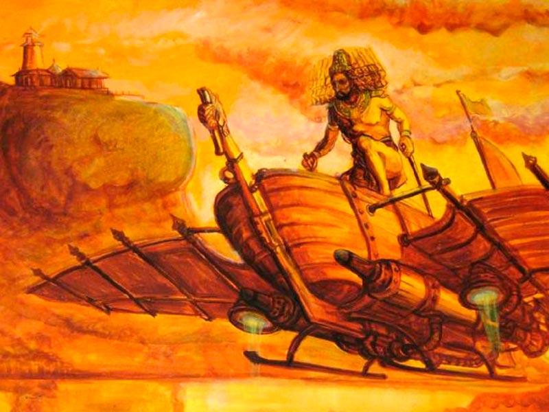 Los dioses de la India antigua viajaban en ovnis. ¿Fantasía o realidad?