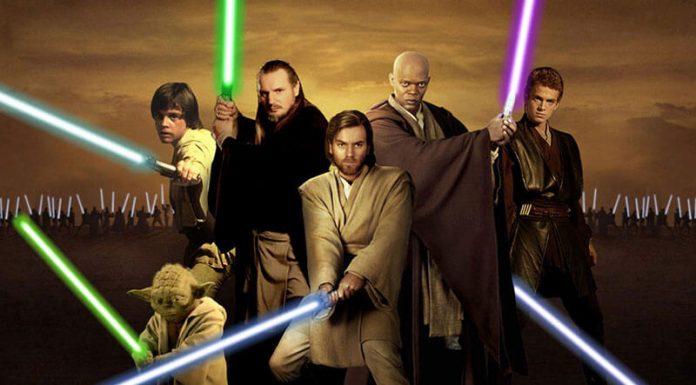 Sables láser Jedi Star Wars