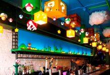Crean un bar inspirado en el universo de Super Mario Bros.