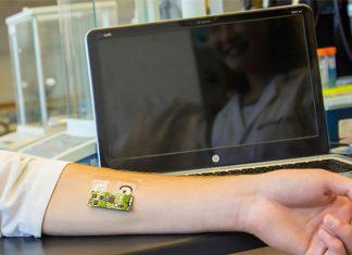 Parche en forma de tatuaje que mide la tasa de alcoholemia en 8 minutos.