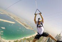 Dubái sorprende con la tirolina más alta del mundo.