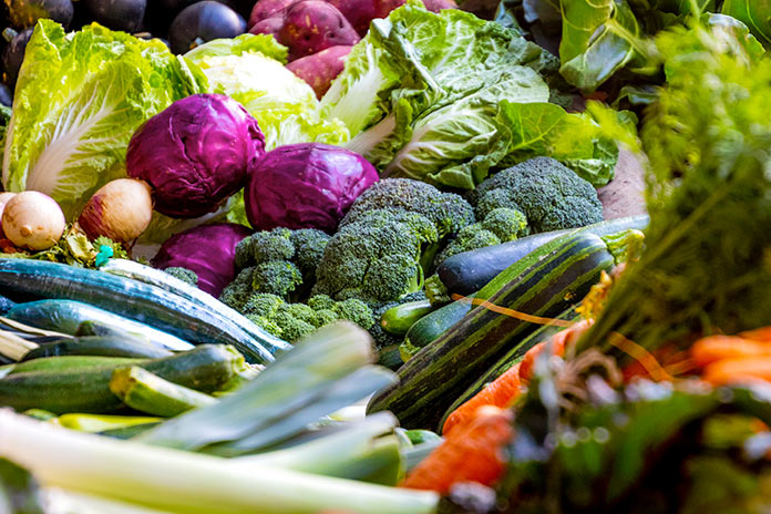 Frutas y verduras - Características de las verduras